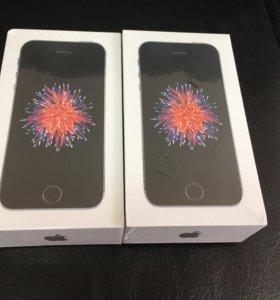 iPhone SE 16 гб черный новый