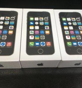 iPhone 5s 16 черный новый