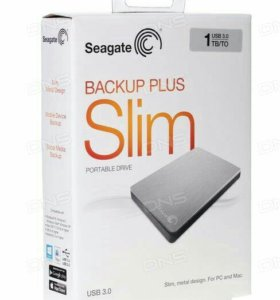 Внешний HDD Seagate Backup Plus Slim