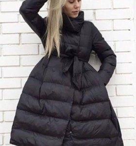 Пальто пуховик, новый