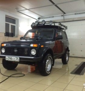 Lada 4x4 (Нива) 1.8 MT 2012 года