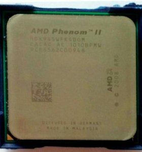 Процессор AMD Phenom II X4 945 для Soket AM3