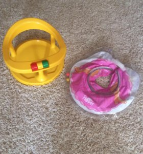 Стульчик для ванны и круг для купания