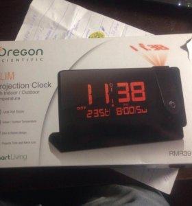 Часы с термометром погоды