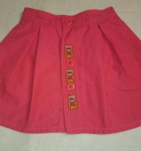 Детская юбка 74 размер