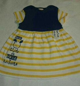 Платье детское 68 размер