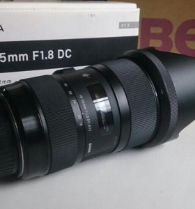Sigma 18-35 1.8 art for canon