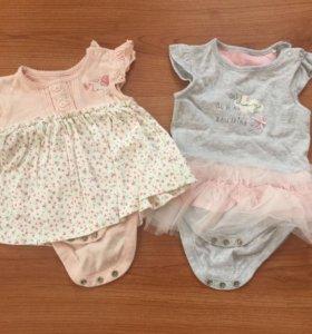 Платья-боди Mothercare