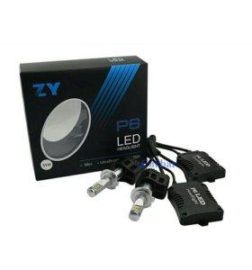 Комплект автомобильных светодиодных ламп H7-55W