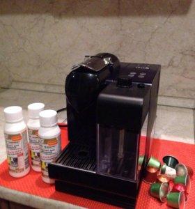 Кофемашина delonghi nespresso en 520 bl