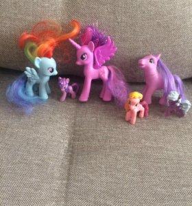 Little Pony (лошадки)5шт(цена за все)