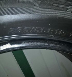 Комплект шин Bridgestone Dueler 235/55/19
