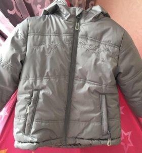 Куртка детская осень-весна 92