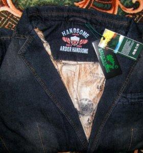 Джинсовый пиджак, новый