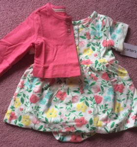Carters платье с кардиганом