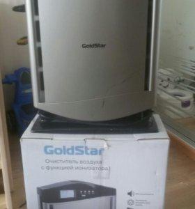 Очиститель воздуха с фунцией ионизатора goldstar