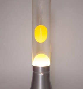 Лава-лампа Цилиндр 37см Магма Желтая