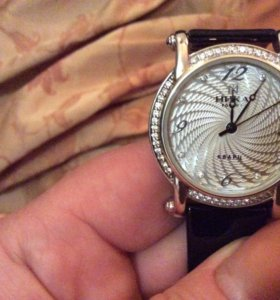 Часы серебренные
