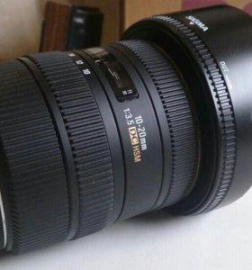 Sigma 10-20 f.3.5 ex dc canon