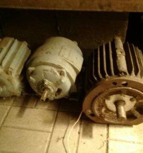 3-х фазный двигатель 4квт,1.1квт,1.1квт