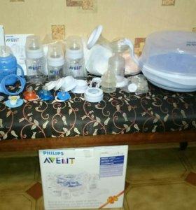 Avent молокоотсос, стерилизатор, подогреватель