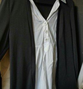 Кофта-рубашка для беременных