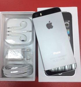 Новый айфон 5s 32гб черный