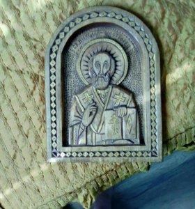 Икона резная освящённая