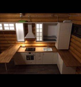 Установка кухни икеа под ключ