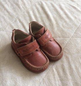 Мокасины детские (ботиночки) обувь р. 21