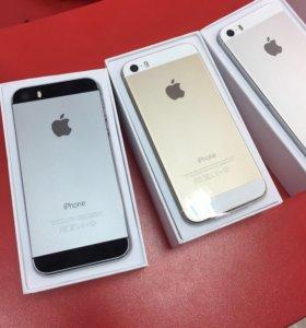 Новый iPhone 5s 32gb серого цвета