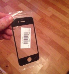 Продам тачскрин стекло на айфон 4
