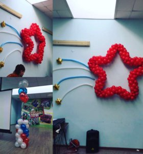 Гелевые шары фигуры из шаров