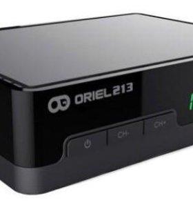 Цифровая ТВ приставка Oriel 213 (DVB-T2