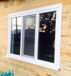 Окна ПВХ,балконы под ключ, двери, потолки.