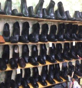 Кожаная обувь ручной работы,в наличие