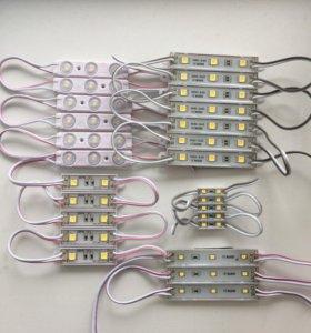 Светодиодные модули, ленты, пиксели, блоки питания