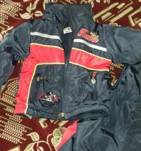 Детские камбинизон и куртка