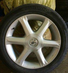 Литые диски Nissan R17