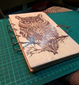 Блокноты и скетчбуки ручной работы