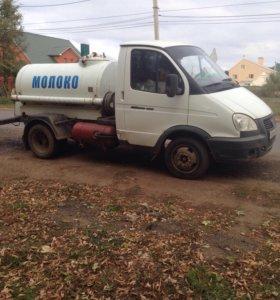 Автомобиль Газель Молочник цисцерна 1100 литров