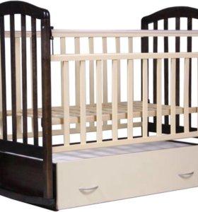 🍓Детская кроватка Антел Алита 4 с ящиком