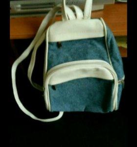 Рюкзачок джинсовый (отдам за)