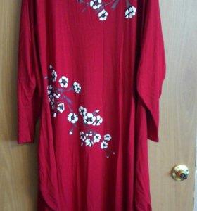 платье нарядное 60-62