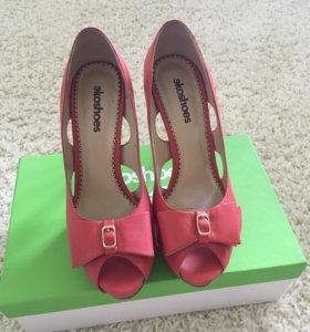 Кожаные туфли на весну, лето