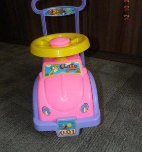 машина каталка для девочки
