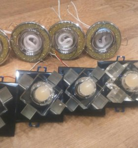 Светильники потолочные с лампочками