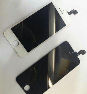 Экран Iphone 5S с установкой