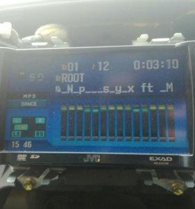 Автомагнитола JVC KV-AVX706