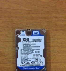 Жёсткий диск для ноутбука 500gb Sata 2,5